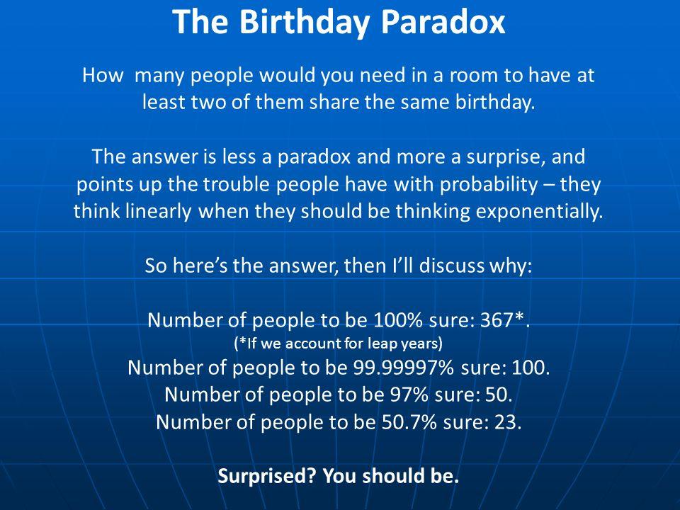 birthday problem formula derivation