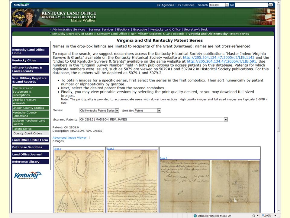 Researching Kentucky Land Patents Elaine N  Walker Kentucky