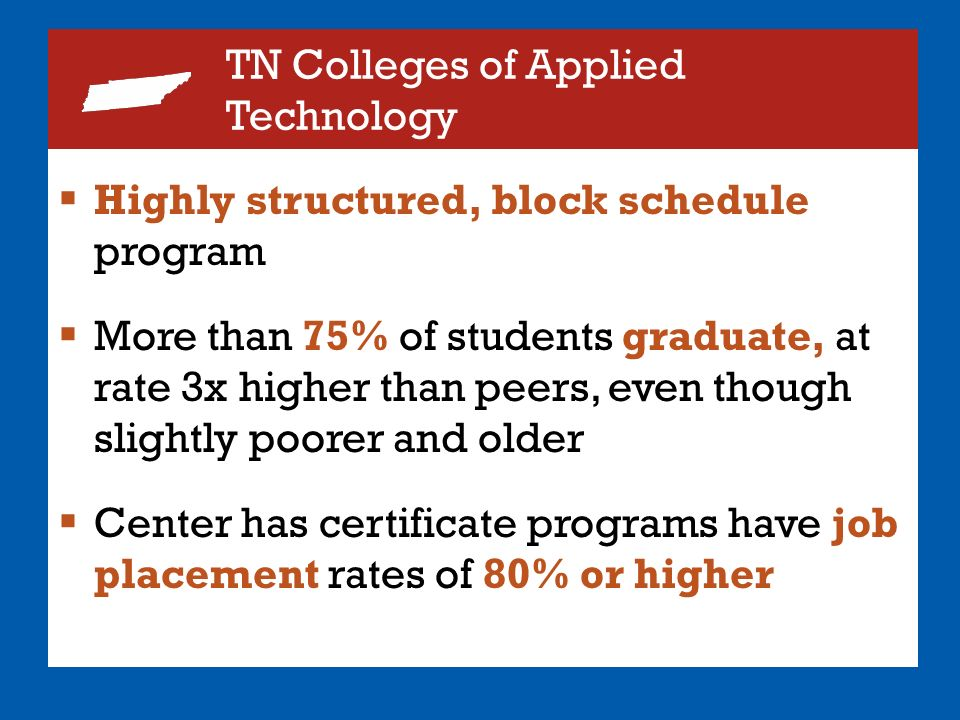 53 tn colleges of applied technology highly structured block schedule
