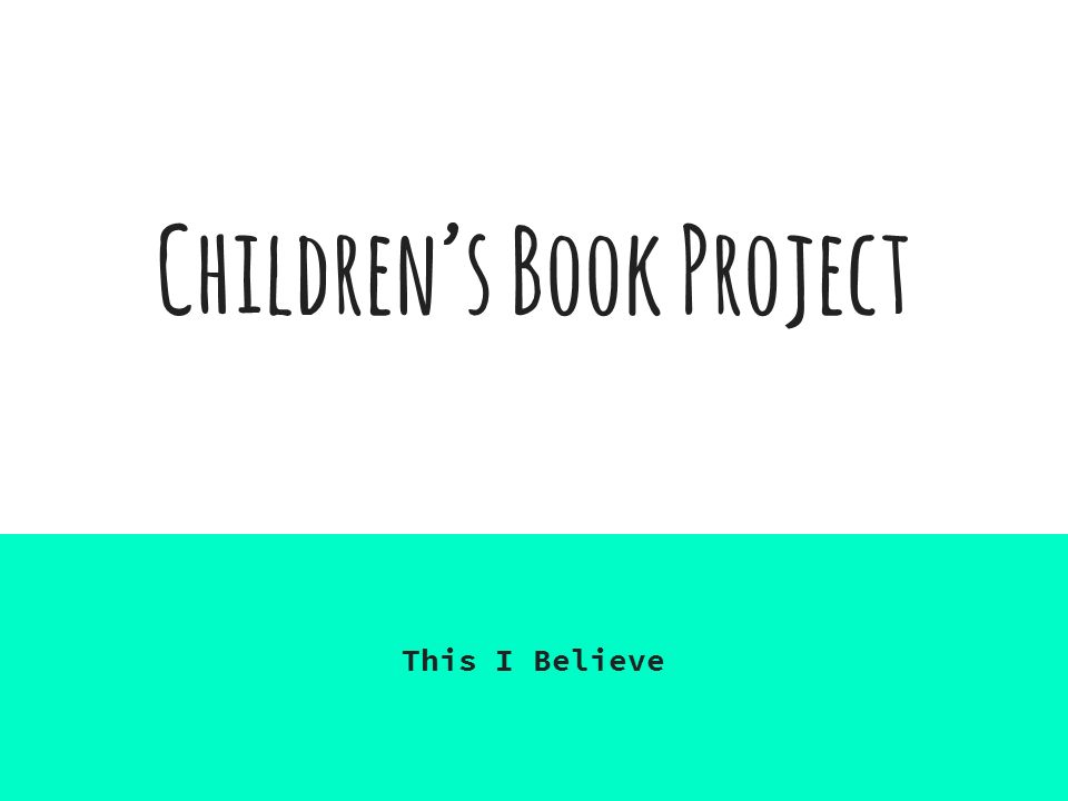 how to write a childrens picture book pdf