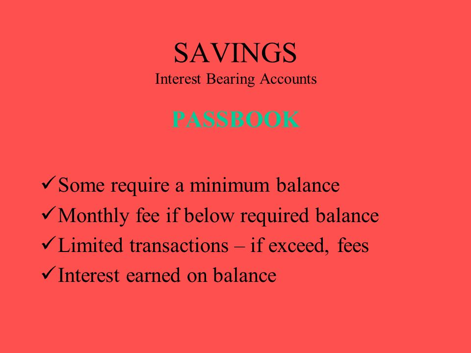 BANKING PRODUCTS  CHECKING Non interest bearing accounts FREE