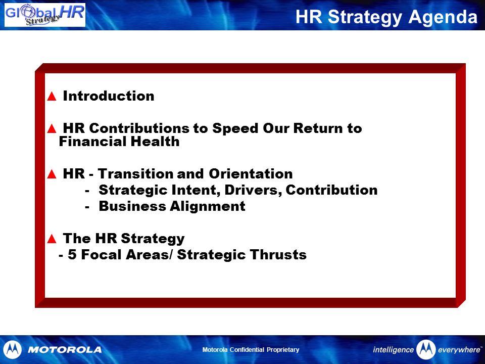 motorola business strategy