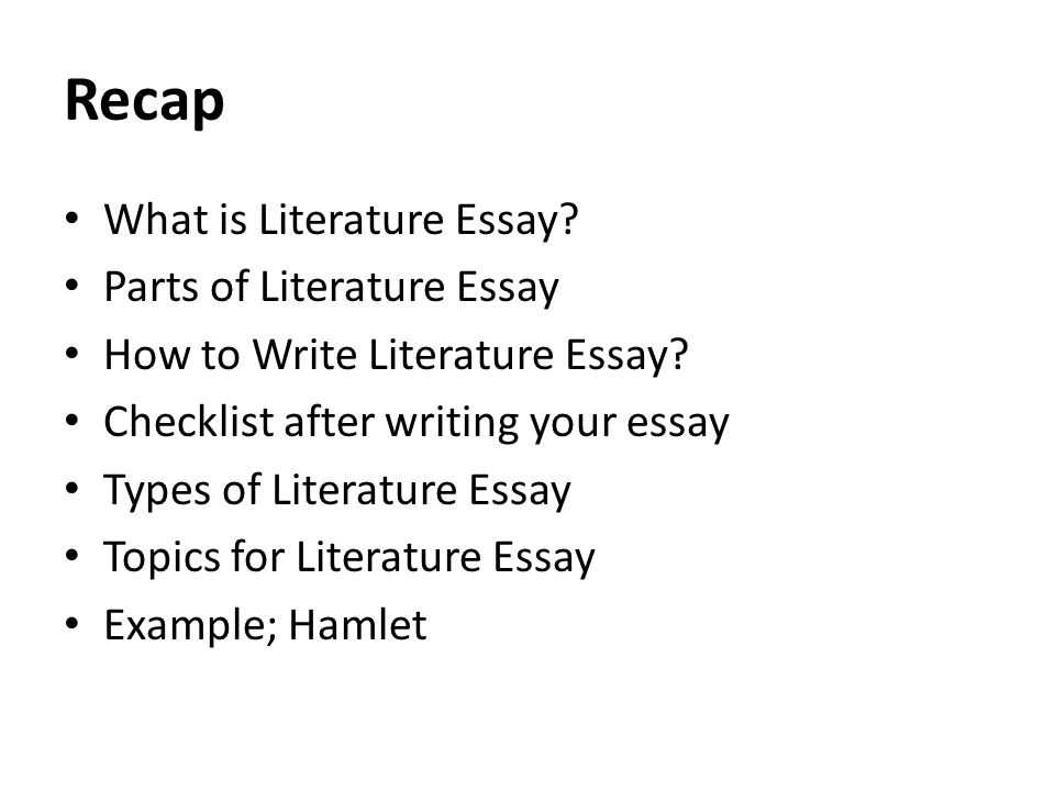 International Business Essays  Examples Of Proposal Essays also Thesis Statement Examples For Narrative Essays The Essay Exam Lecture  Recap What Is Literature Essay  Proposal Essay Topics
