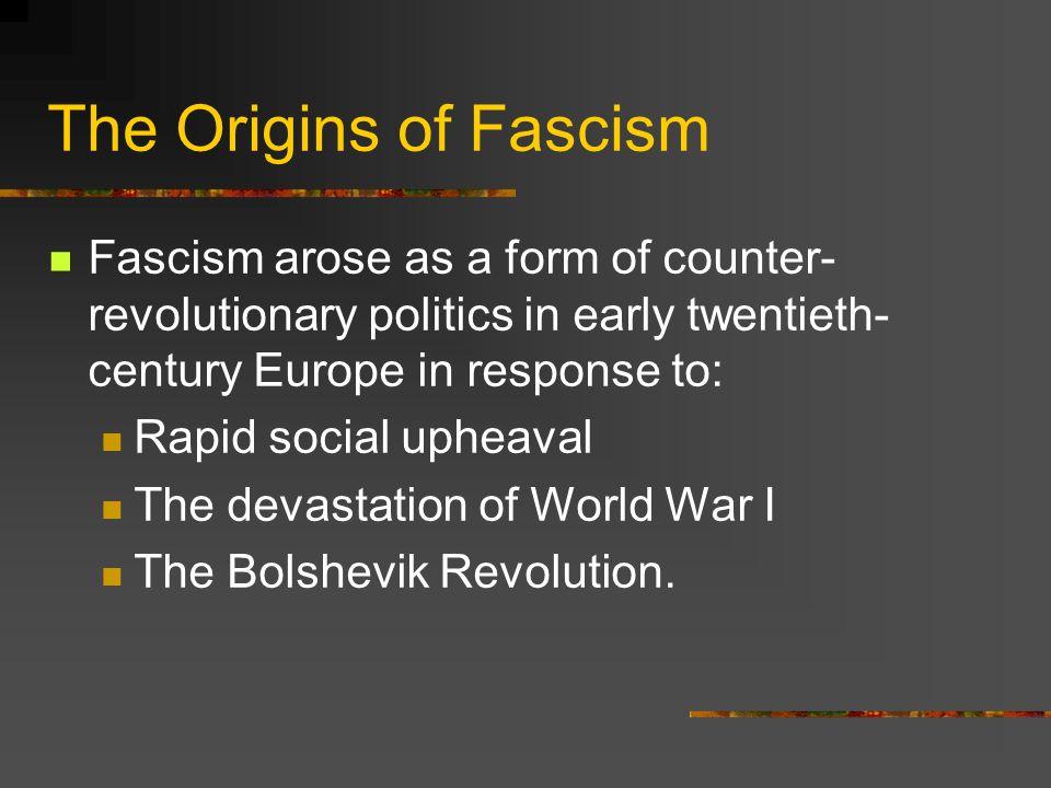 Italian Fascism  Definition Fascism is the totalitarian