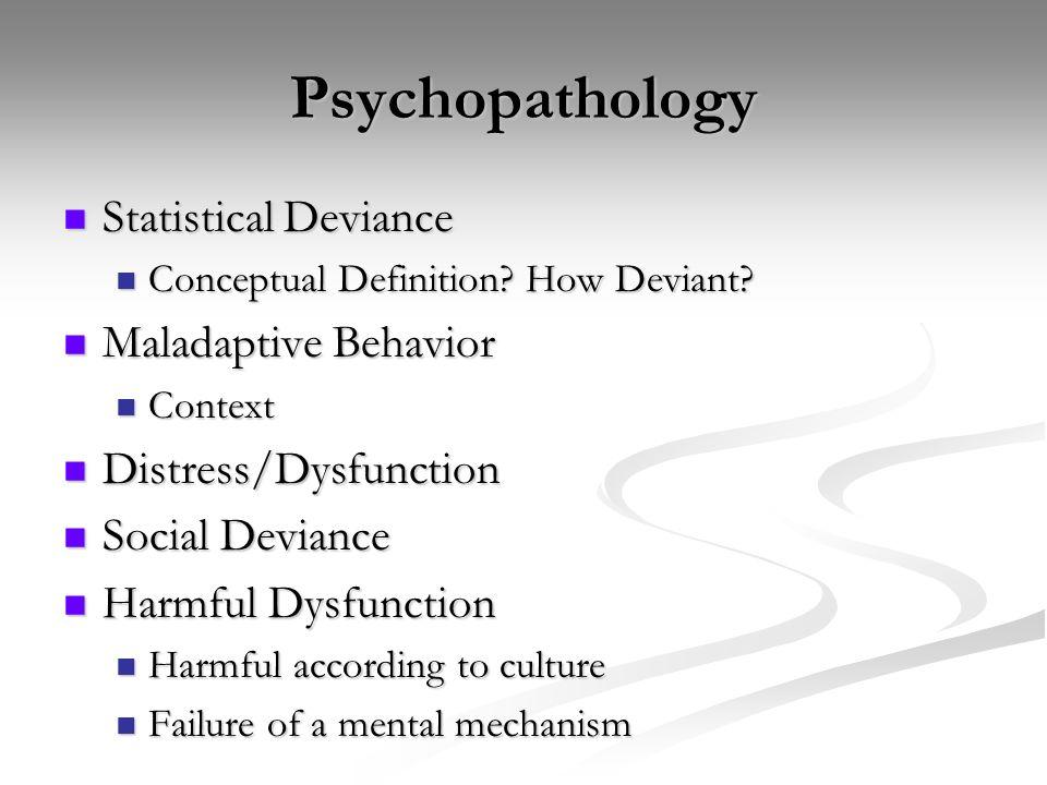 Advanced Psychopathology Defining The Phenomena Example 30 Yo Male