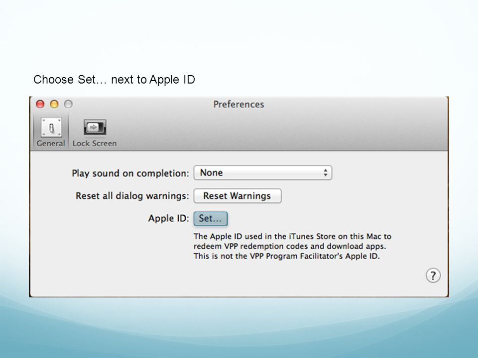 Basic Apple Configurator Preferences  Apple Configurator