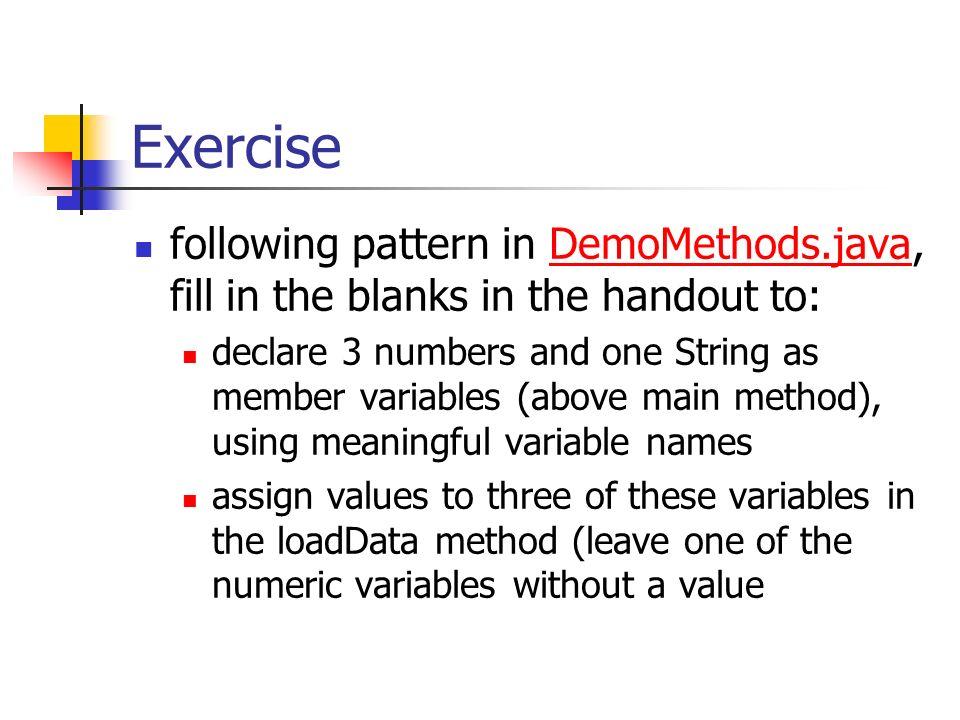 CIS 234: Java Methods Dr  Ralph D  Westfall April, ppt download