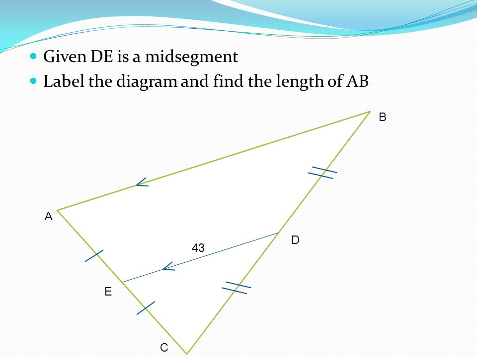 511 Midsegment Theorem And Coordinate Proof Swbat Define And Use