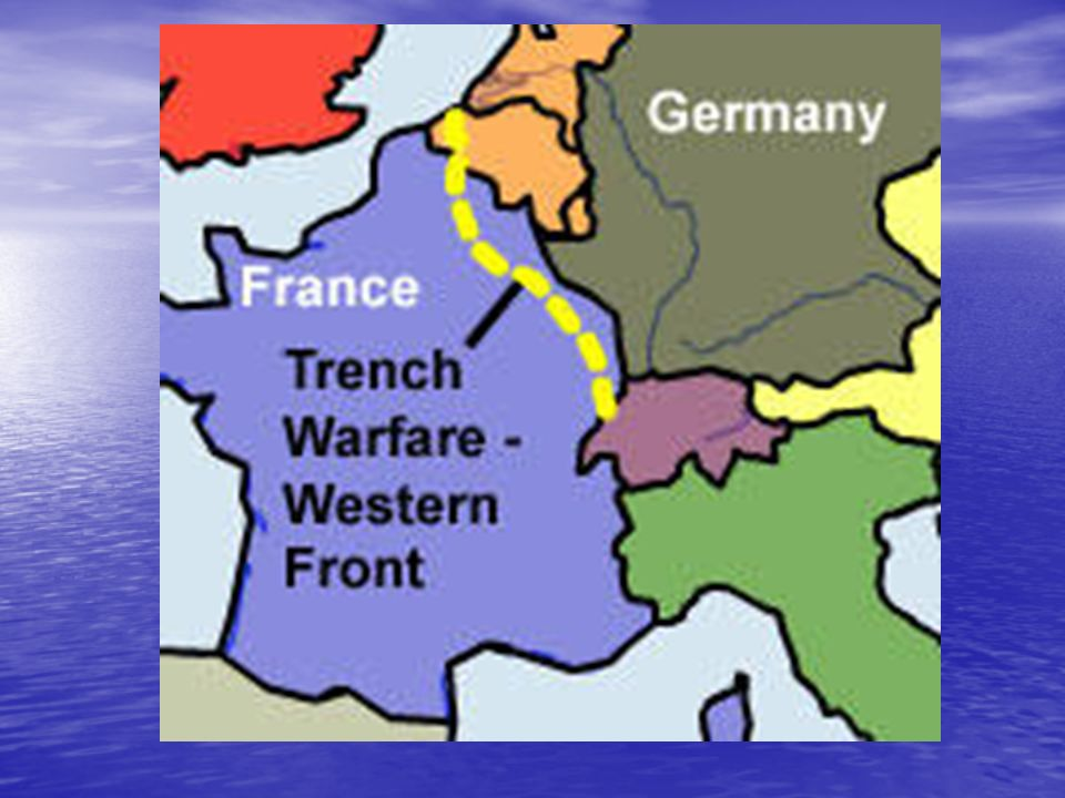Trench Warfare WWI. Introduction: Task: You will be reporting on a ...