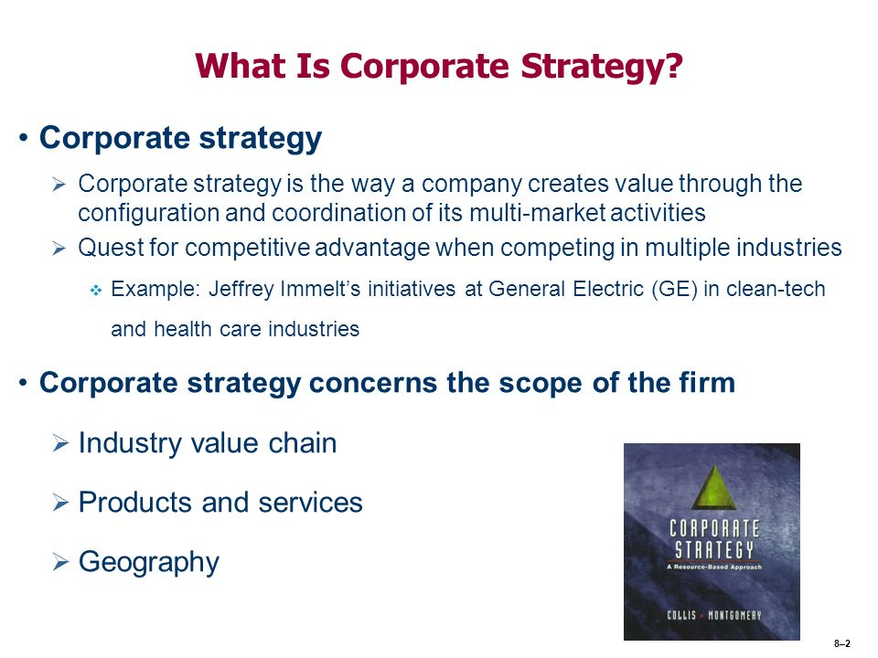 vertically integrated corporations