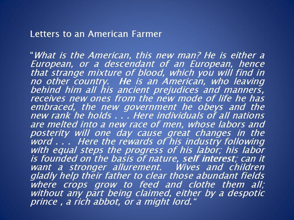 de crevecoeur what is an american essay
