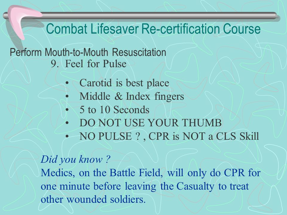 Combat Lifesaver Re Certification Course Welcome Ssg Scaliatine Sgt