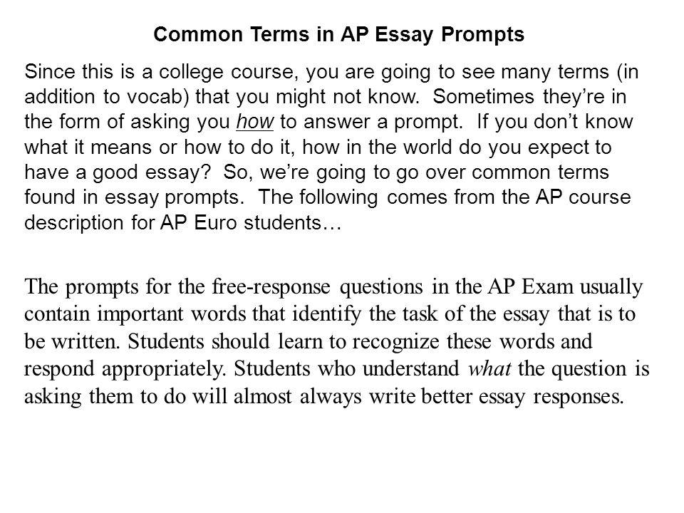 An Exam Reader's Advice on Writing