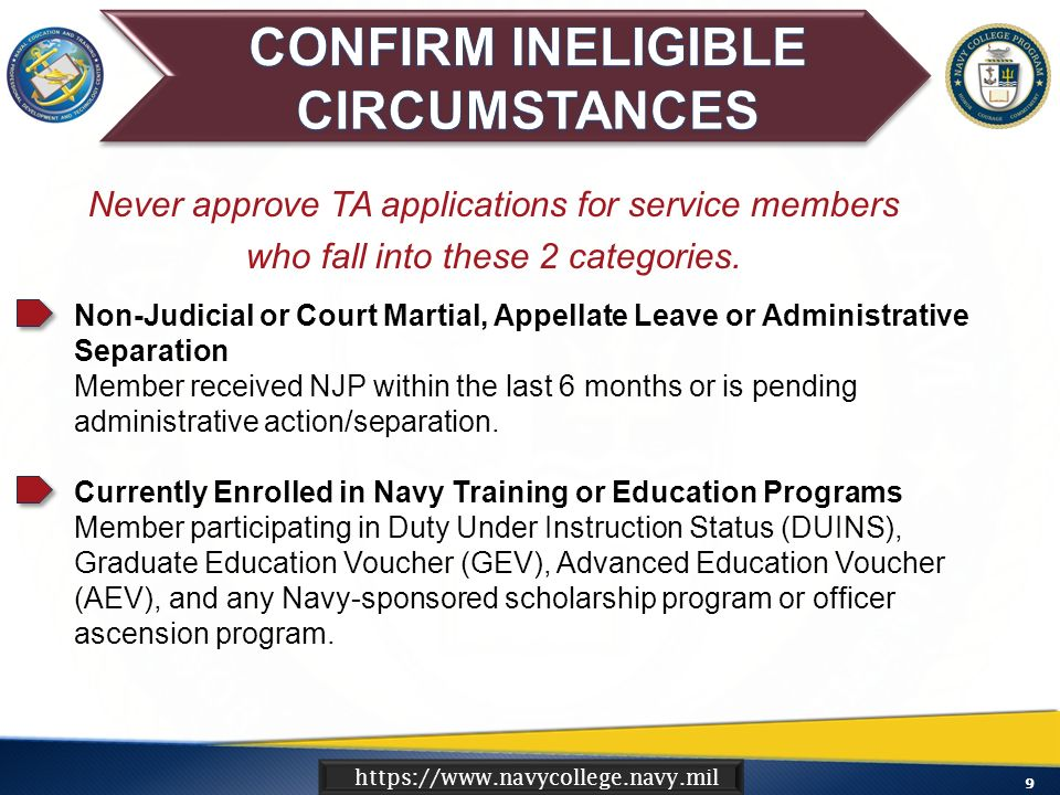 1 Ensure Understanding Of The Commands Role In The Navy Tuition