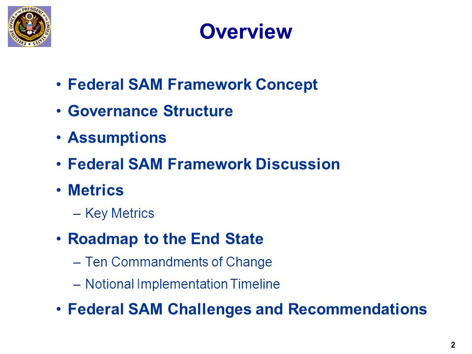 Federal Software Asset Management Initiative Concept of