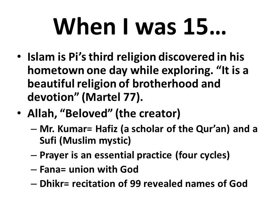 Life of pi mr kumar atheist dating