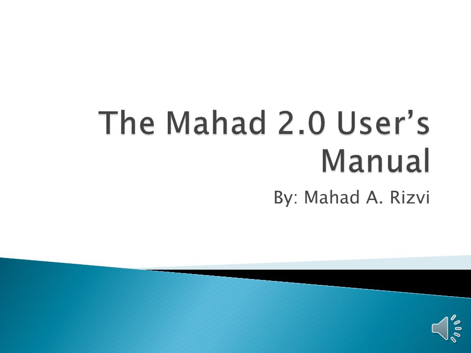 By Mahad A Rizvi 1 Title Page 2 Table Of Contents 3