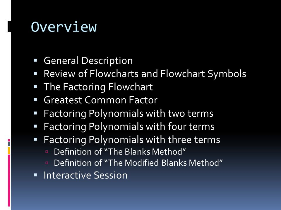 By Kyle Muldrow Overview General Description Review Of