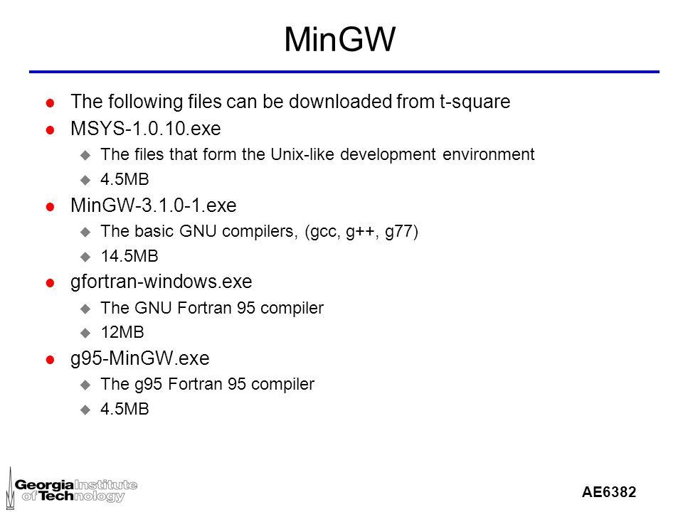 mingw-3.1.0-1.exe