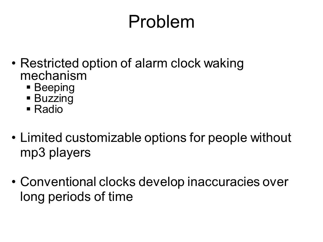 Midterm Presentation Music Alarm Clock  Craig Bilberry Team