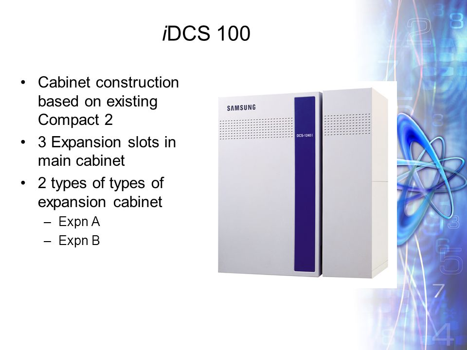 IDCS 100 Cabinet Construction Based On Existing Compact 2 3