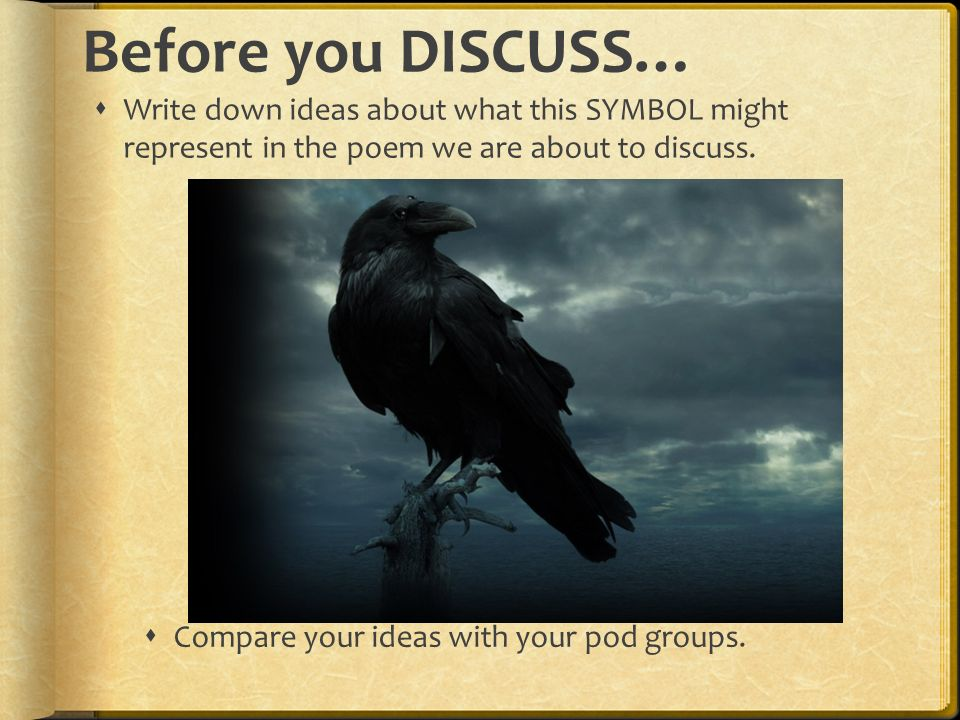 Edgar Allan Poe Author Study Objectives 1fine Symbolism
