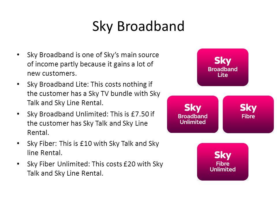 Sky TV Income generation  Sky Bundles Sky offers many