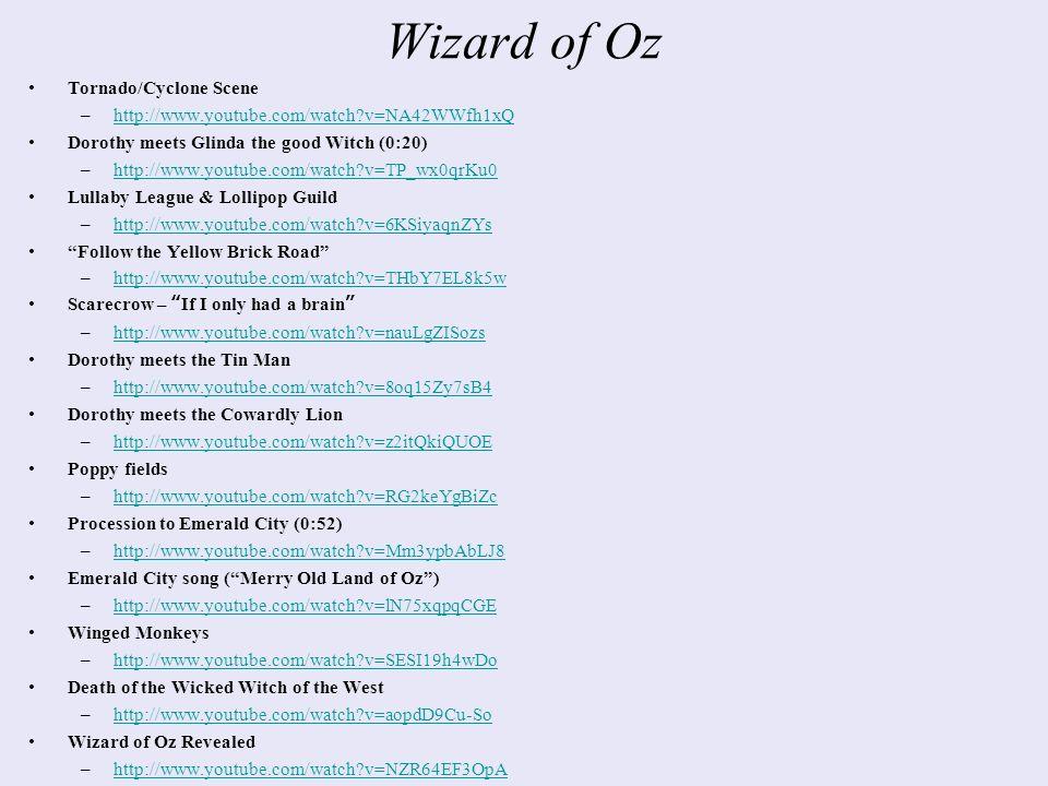 The Wizard Of Oz A Populist Allegory Wizard Of Oz Tornadocyclone