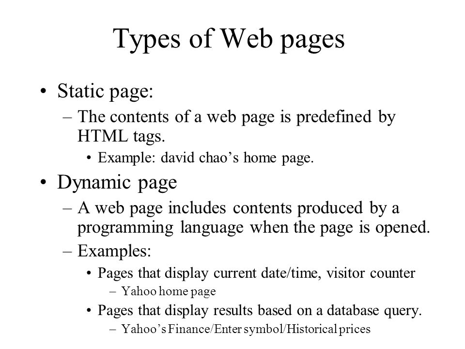 Web Page Introduction  What is a web page? A hypertext is a document