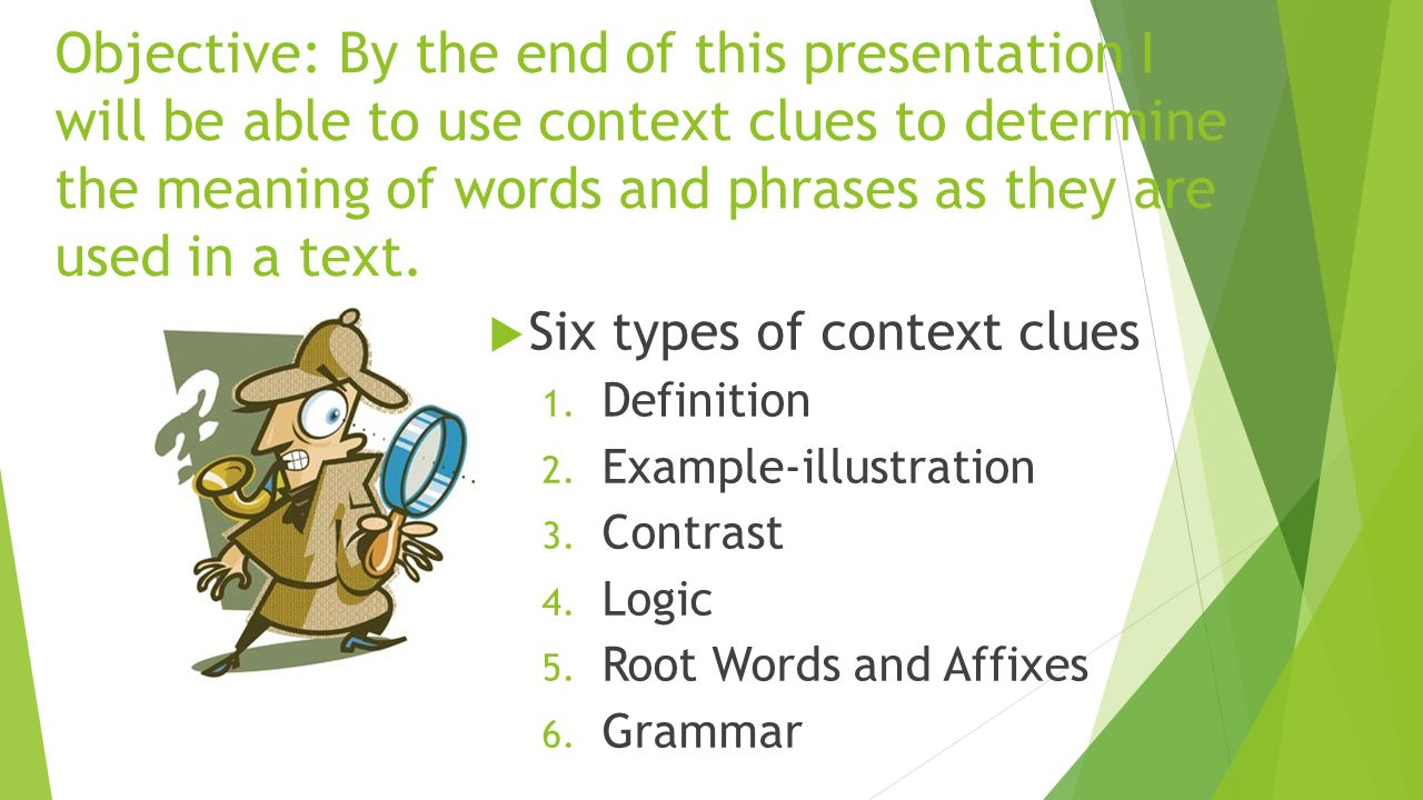 word study ms. perez gcu: tec 571 july 17, objective: by the end of