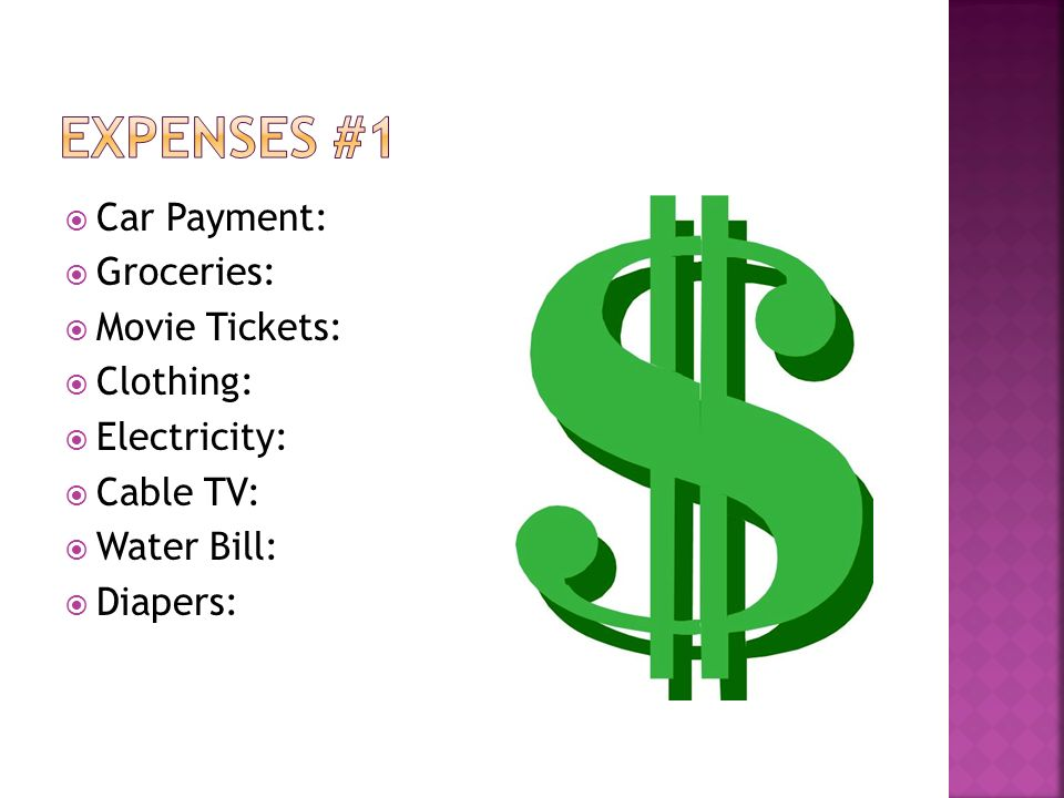 fixed expense a payment that generally cannot be changed