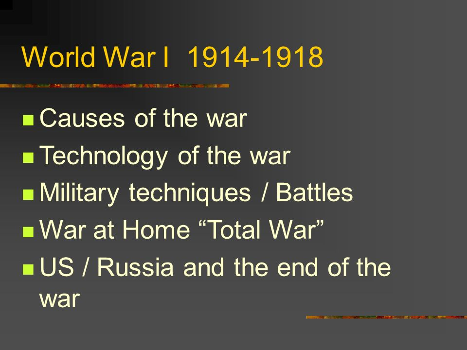 the cause of the war in 1914 The major cause of world war i was imperial germany's determination to become a world power or superpower by crippling russia and france in what it hoped would be a brief and decisive war.