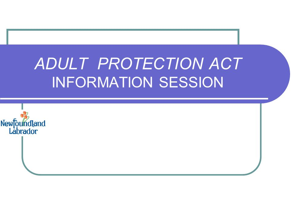 protection law Adult