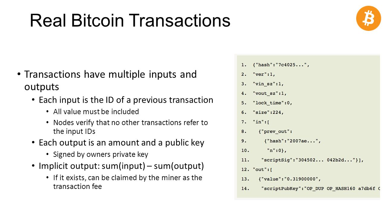 Cs 3700 networks and distributed systems bitcoin ppt download 36 real bitcoin transactions transactions have ccuart Gallery