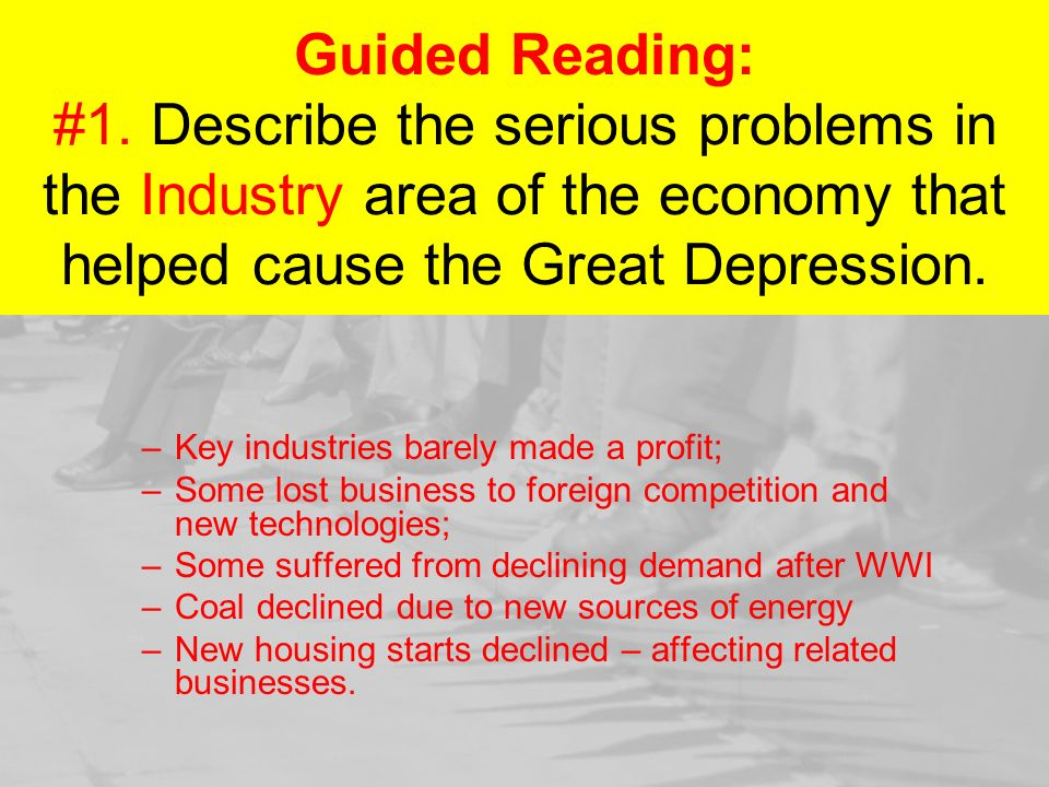 the great depression begins section 1 photos by photographer rh slideplayer com guided reading activity the great depression begins lesson 1 answers guided reading activity the great depression begins lesson 3 answers
