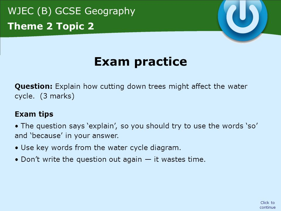 Wjec b gcse geography theme 2 topic 2 click to continue hodder wjec b gcse geography theme 2 topic 2 question explain how cutting down ccuart Image collections