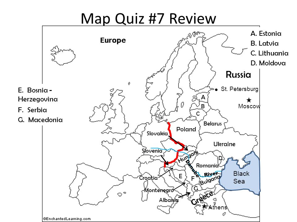 Map Quiz #7 Review World Geography Mr. Wofford. Map Quiz #7 Review ...