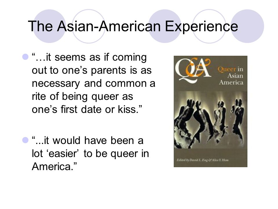 Troubling intersections of race and sexuality