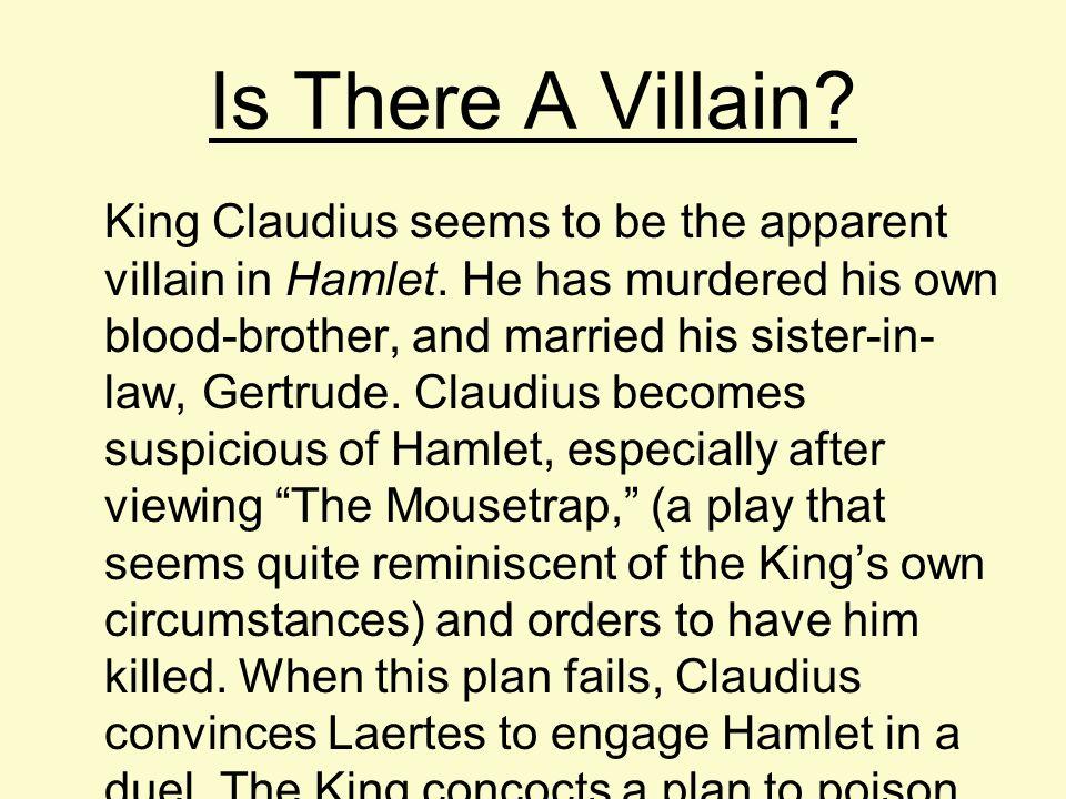 villain in hamlet