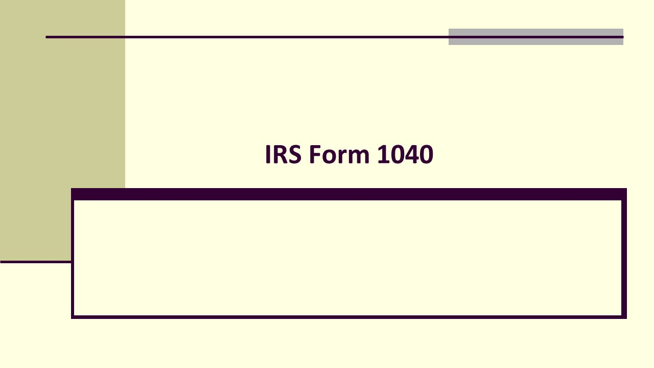 IRS Form We file 1040 forms, not 1040A, 1040EZ, etc is split up into ...