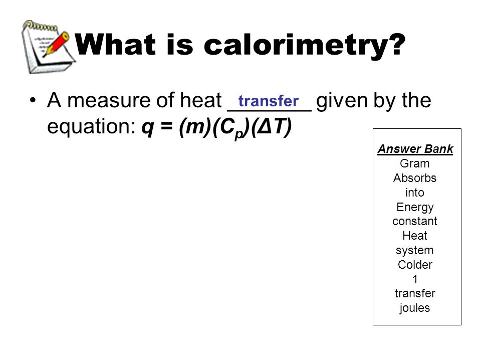 Thermochemistry Topic Specific Heat And Calorimetry Objectives. What Is Calorimetry. Worksheet. Calorimetry Worksheet Key At Mspartners.co
