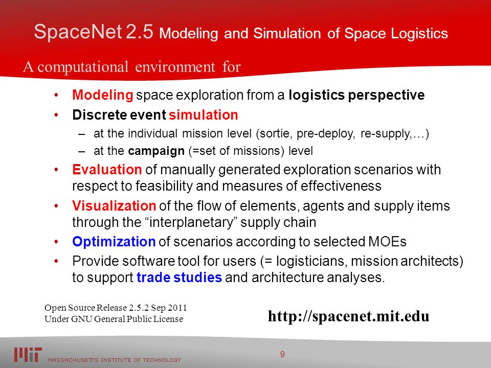SpaceNet: Simulation Environment for Space Exploration