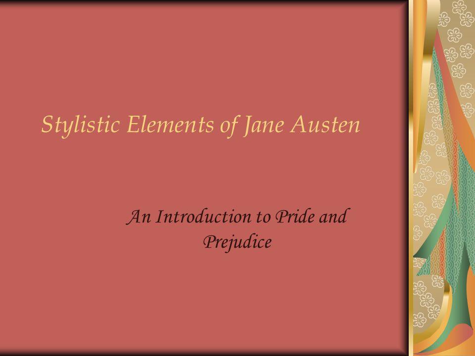 pride and prejudice presentation