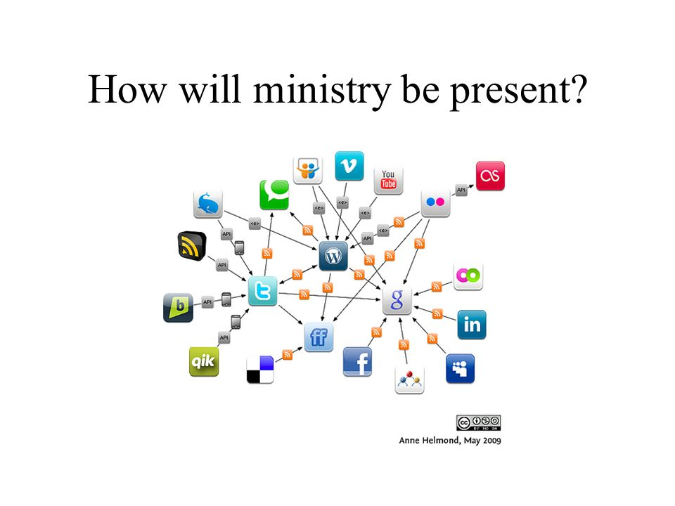 How will ministry be present