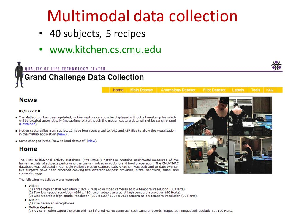 ACADS-SVMConclusions Introduction CMU-MMAC Unsupervised and