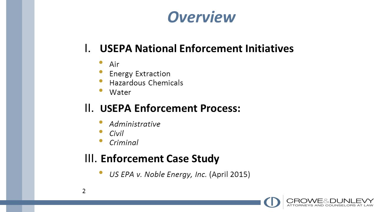 Anatomy of Environmental Enforcement Actions: Administrative, Civil ...
