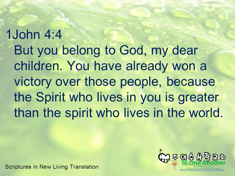 Scriptures in New Living Translation The Meaning of Salvation