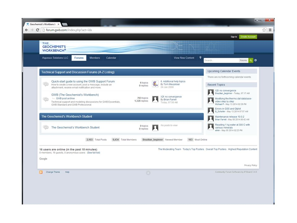 2 GWB Student users can read conversations on the main forum 228e01a74