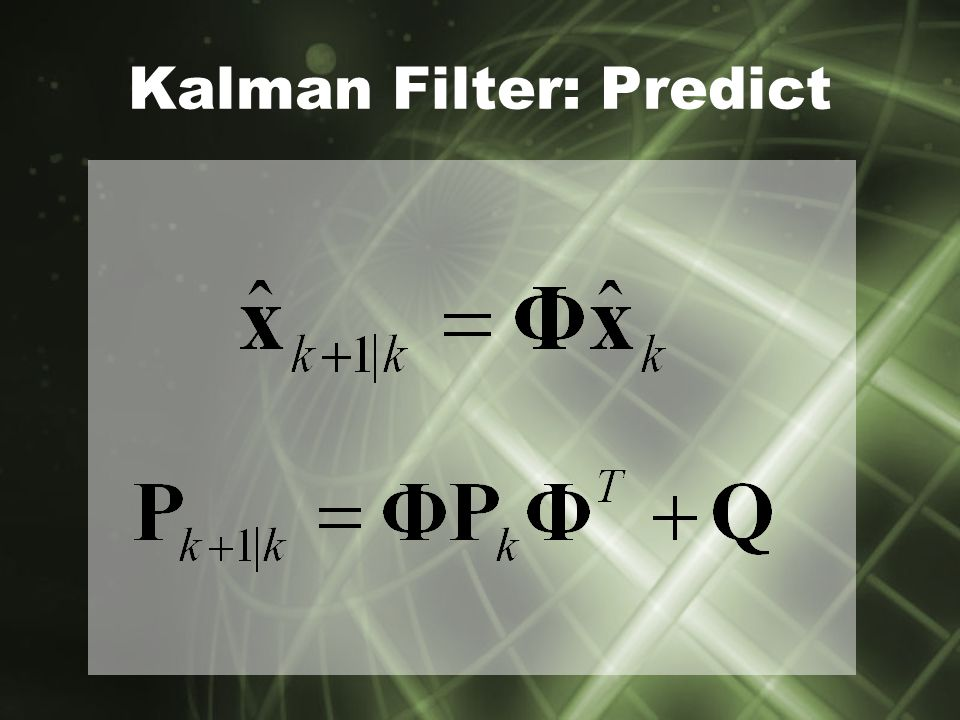 Principles of Radar Tracking Using the Kalman Filter to locate