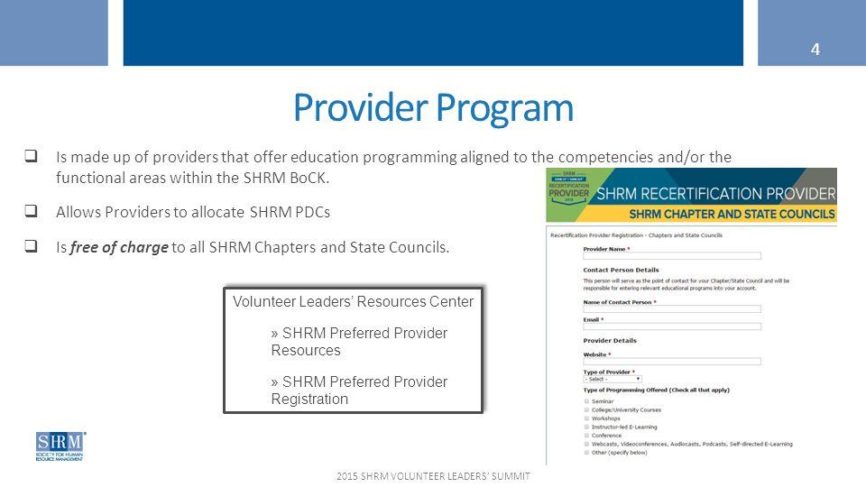 Webcast March 20 2015 Shrm Certification Team Shrm Volunteer